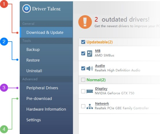 Driver Talent Pro 7.1.30.6 Crack With Activation Key 2020 Free Download