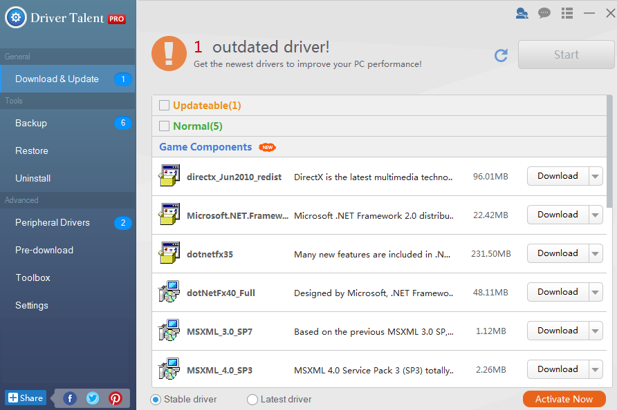 Driver Talent Pro 7.130.6 Crack With Activation Key 2020 Free Download