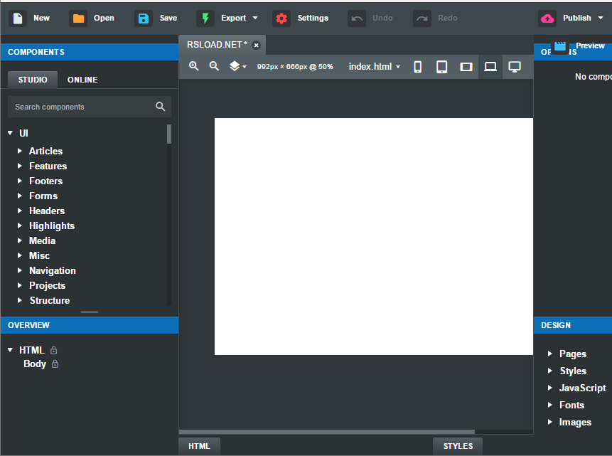 Bootstrap Studio 5.5.1 Crack With License Key 2021 Free Download