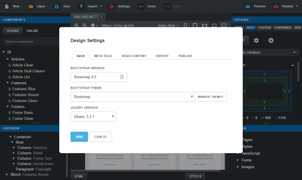 Bootstrap Studio 5.8.3 Crack With License Key 2022 Free Download