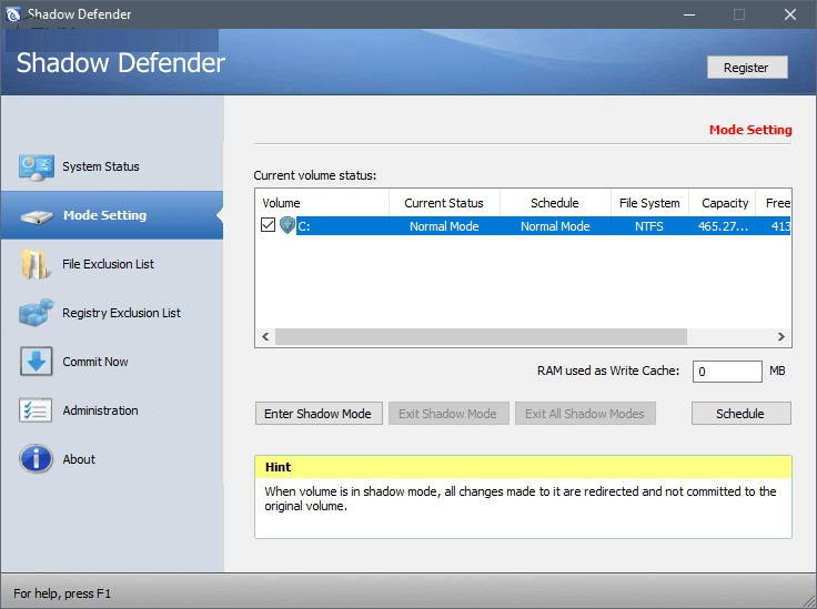 Shadow Defender 1.5.0726 Crack With Serial Key 2020 Free Download