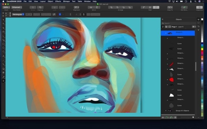 CorelDRAW Graphics Suite 2020 v22.1.1.523 Crack With Serial Key Free Download