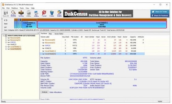 DiskGenius Professional 5.4.2 Crack With Serial Key 2021 Free Download