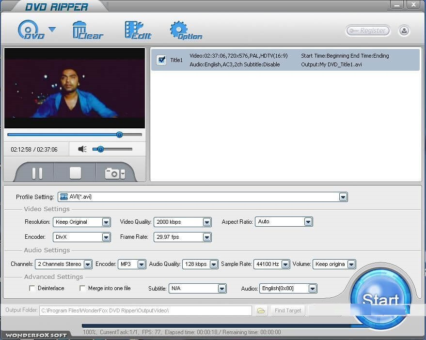 WonderFOx DVD Ripper Pro 15.0 Crack With License Key 2020 Free Download