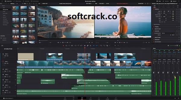 DaVinci Resolve Studio 17.2.2 Crack With Activation Key 2021 Free