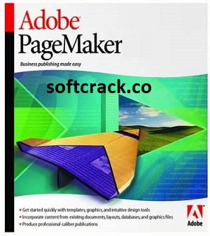 Adobe Pagemaker 7.0.1 Crack With Serial Number 2021 Free Download