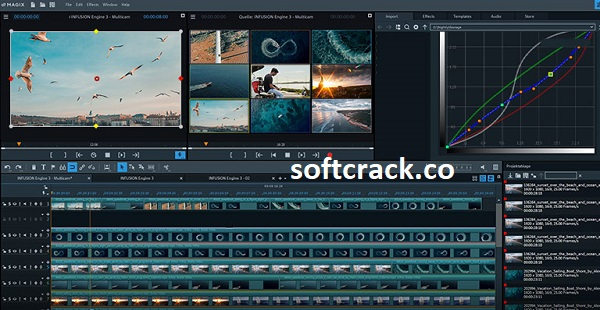 MAGIX Video Pro X13 19.0.1 Crack With Serial Number 2021 Full Free